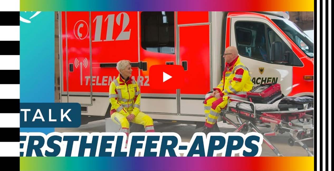 Ersthelfer-App Telemedizin Doc Caro Youtube Video
